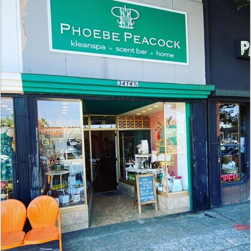 Phoebe Peacock Storefront
